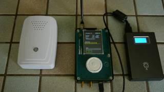 HackRF + PortaPack OOK transmit (PT2262, HK526E, HT12E encoders...)