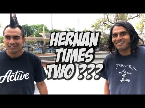2 HERNAN'S & THE ULTIMATE SKATE DAY WITH THE IDOLS CREW !!! - NKA VIDS -