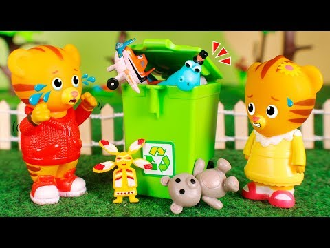 Daniel Tiger´s Toys 🐯  New Compilation By Daniel Tiger! 😀