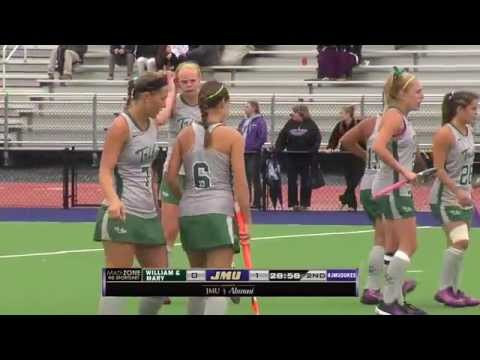 JMU Field Hockey vs. William & Mary, Oct. 12, 2014