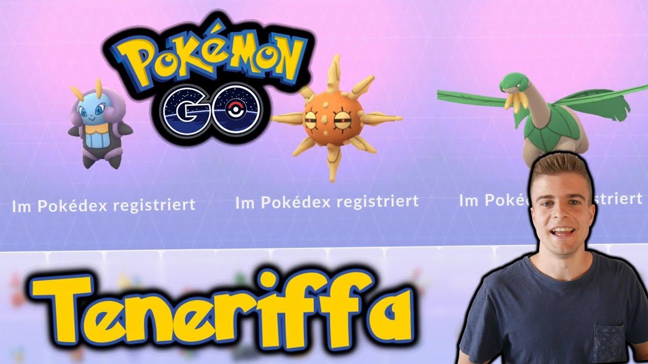 Sonnfel, Tropius & Illumise fangen | Pokémon GO auf den Kanaren (Recap #2)