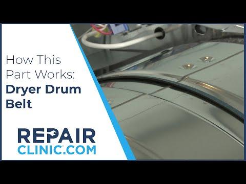 How it Works - Dryer Drum Belt