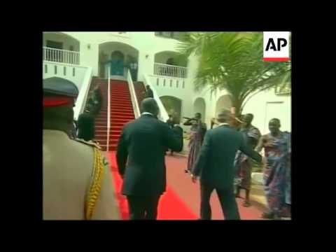 US Pres meets with Ghanaian pres, comments on security, Pakistan