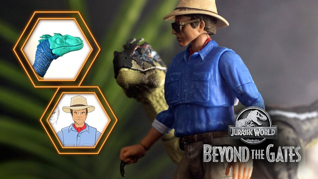 Amber Collection: JPIII Velociraptor - Beyond the Gates: Episode 6 | JURASSIC WORLD