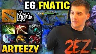 Arteezy TB EG vs FNATIC - The Kuala Lumpur Major