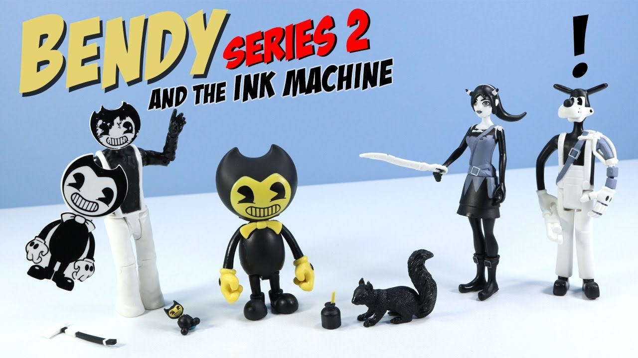 Bendy And The Ink Machine Series 2 Action Figures Phatmojo