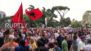 Albania: Anti-govt protests continue after demolition of national theatre
