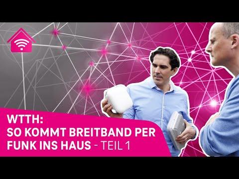 Breitband per Funk ins Haus - WTTH-Trial, Teil 1: Technischer Aufbau