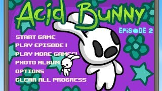 Acid Bunny 2 Walkthrough
