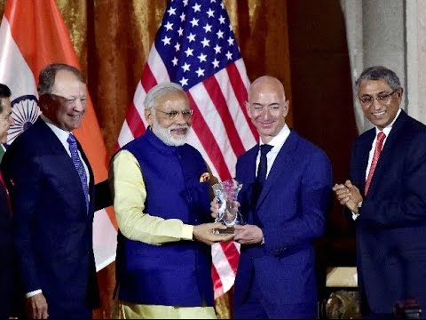 Amazon to Invest 3 Billion Dollars in India Says CEO Jeff Bezos