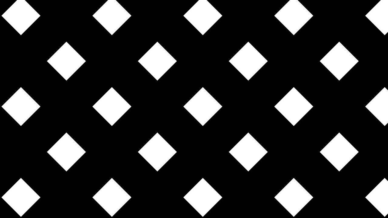 Black Diagonal White Squares on Black Background - YouTube