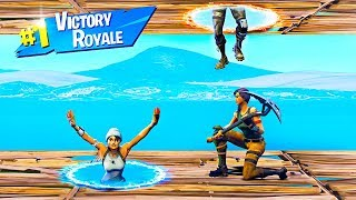 CAN YOU COMPLETE THESE IMPOSSIBLE PORTAL PUZZLE LEVELS in Fortnite Battle Royale