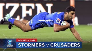 Stormers v Crusaders | Super Rugby 2019 Rd 14 Highlights