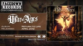 War of Ages - Return to Life - Song Of Solomon