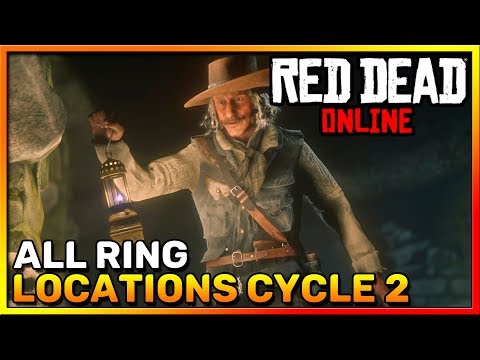 Red Dead Online Frontier Pursuits - All Ring Locations Cycle 2 - Madam Nazar - RDR2 Online