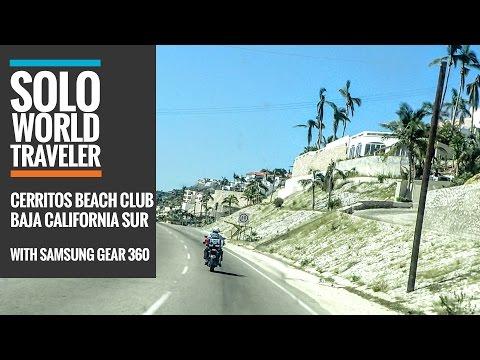 The Dirt Road To Cerritos Beach Club & Surf, Baja California, Mexico