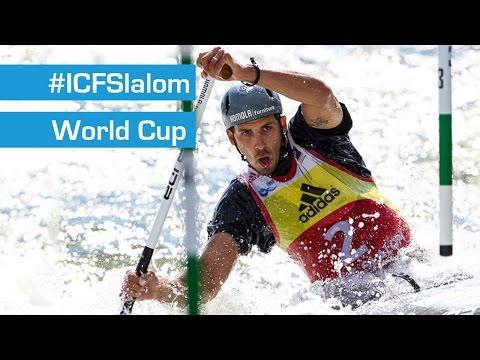 REPLAY: C1M Semifinals Slalom | Liptovsky 2015