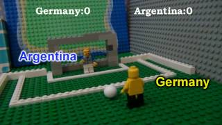 LEGO 2014 World Cup (Penalty Shootout) PART 1