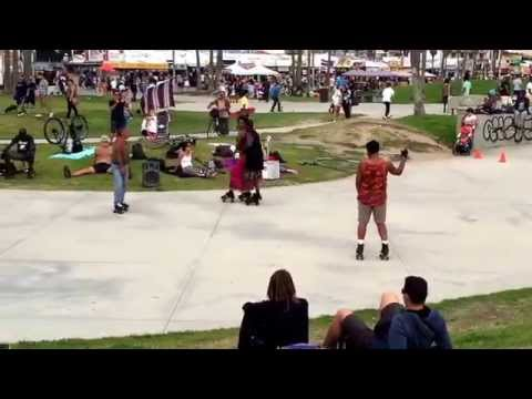 Roller Skating - Venice Beach - Los Angeles, CA