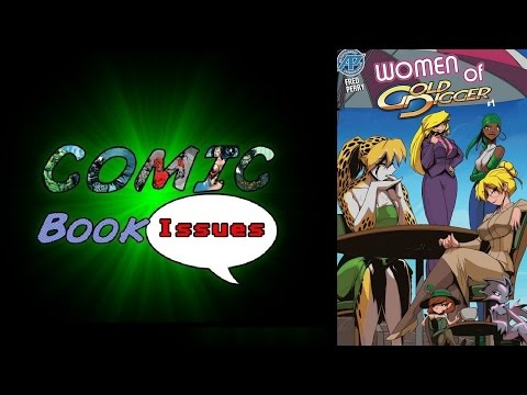 Comic Book Issues - Women of Gold Digger