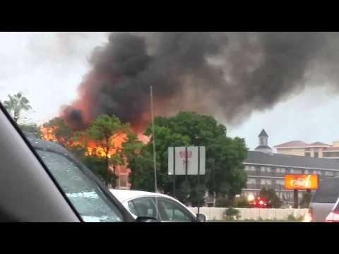 Fire at Avanti Resort Orlando florida july 05,2015