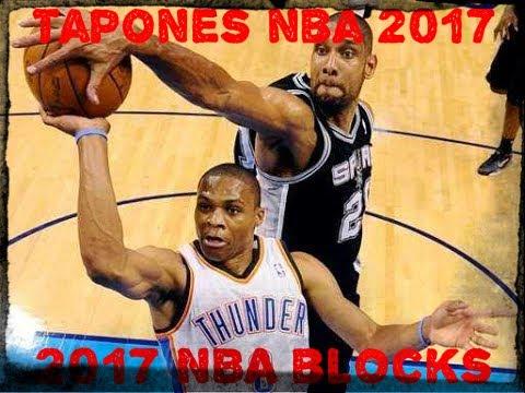 Best NBA Blocks Of 2017 Season / Los Mejores Tapones De La Temporada 2017