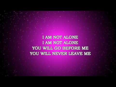 I AM NOT ALONE INSTRUMENTAL