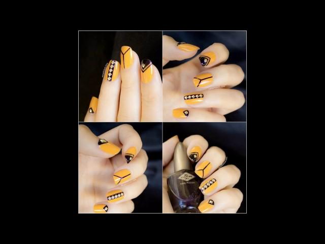 Tendencias de Uñas decoradas con amarillo