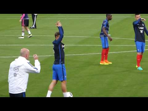Antoine Griezmann ● Olivier Giroud ● Paul Pogba ● France vs Ecosse 2016