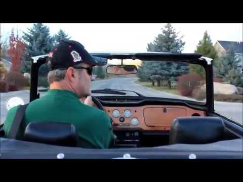 Beautiful Triumph TR6 sound. TR6 owners know the wonderful sounds these straight sixes make.