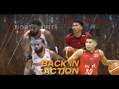 Northport Batang Pier vs Blackwater Elite | PBA Governors' Cup 2018 Eliminations