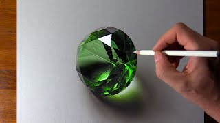 Drawing Emerald, so Realistic that...