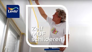 Hoe MDF schilderen?