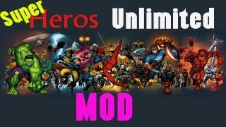 Superheroes Unlimited  Mod v1.4.1  MC 1.5.2 - How to Install & Spotlight