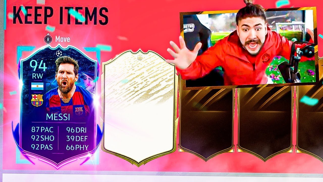 MESSI & MOMENTS ICON PACKED!! FIFA 20