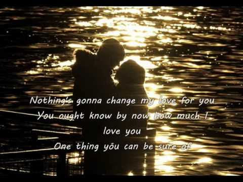 Nothing's Gonna Change My Love For You - Glenn Medeiros ...