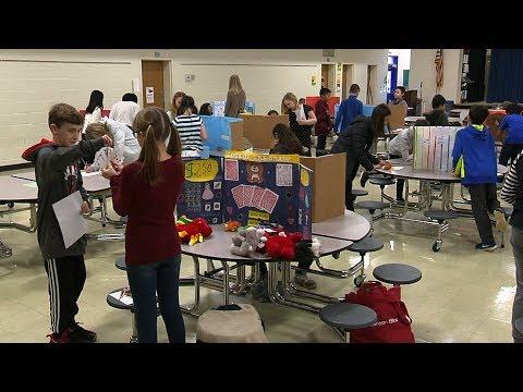 Probability Lesson at Three Chopt Elementary School