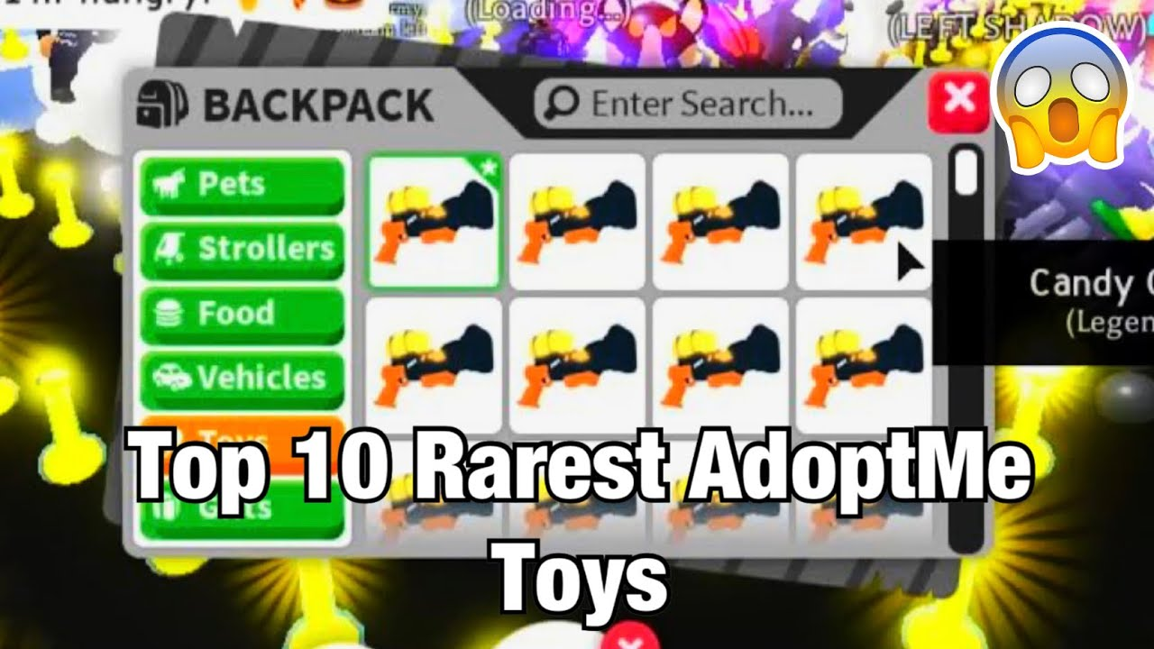 Top 10 Most Rare Toys In Adoptme Roblox Adoptme Youtube
