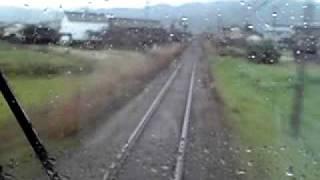 ローカル線(JR徳島本線 麻植塚・下浦間)