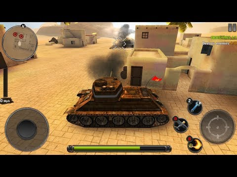 Tanks of Battle: World War 2 - Gameplay (iOS, Android)