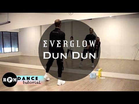 """EVERGLOW """"DUN DUN"""" Dance Tutorial (First Chorus, Second Chorus)"""