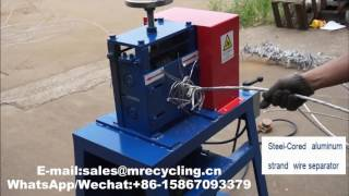 acsr wire recycling machine video mp4