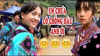 Bắt gặp em gái H'mông | XINH NHƯ TIÊN | tại phiên chợ - Cán Cấu - Simacai - Lào Cai - kp247