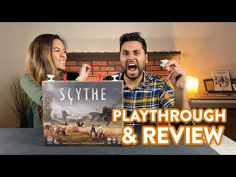 Scythe board game - Playthrough & Review