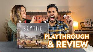 Scythe board game - Playthrough \u0026 Review