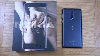 Nokia 8 - Unboxing!
