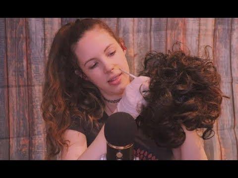 scalp-check-&-scalp-massage-sounds---a-tingly-asmr
