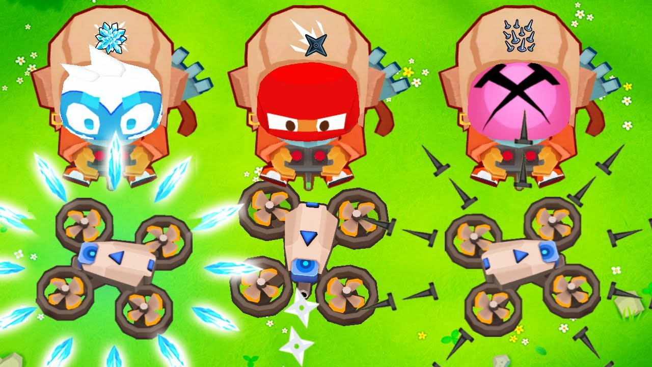 Download btd 6 but every tower has drones...