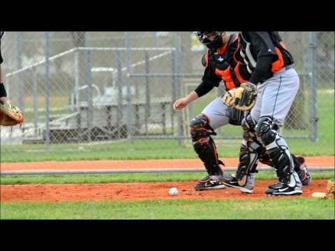 MLB Catchers Drills: Receiving And Blocking