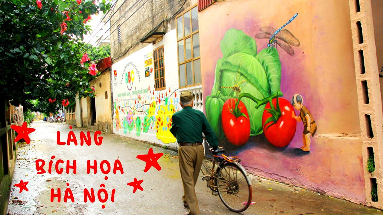 HALO TREND #3 | Làng bích họa Chử Xá, Văn Đức ngay ngoại thành Hà Nội